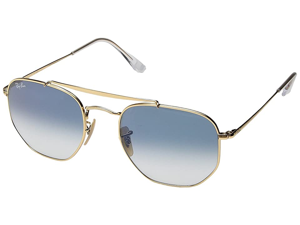 Ray-Ban RB3648 Marshall 54mm (Gold/Light Blue Gradient) Fashion Sunglasses