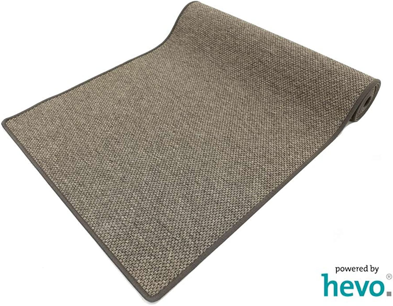 Benny braun Dnisches Flachgewebe HEVO Teppich  Kinderteppich  Spielteppich 080x400 cm