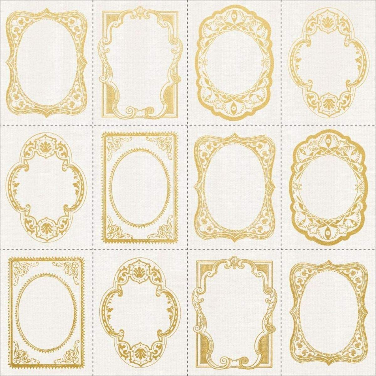 Max 59% OFF Kaisercraft Frame Cut-Outs W El Paso Mall Gold Romantique 12 Cardstock Foiled