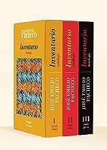 Inventario. Antologia de Jose Emilio Pacheco 1973 - 2014 (3 Tomos) (Spanish Edition)