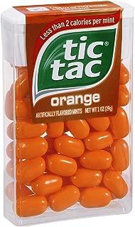 Tic Tac Orange Mints 1 OZ (Pack of 24)