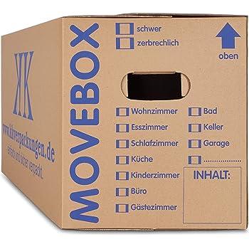 30 Bucherkartons 2 Wellig In Profi Qualitat Bookbox Amazon De Burobedarf Schreibwaren