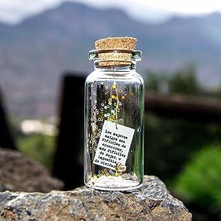 Los mejores amigos son difíciles de encontrar... Sé tu mismo. Be you. Mensaje en una botella. Miniaturas. Regalo personali...
