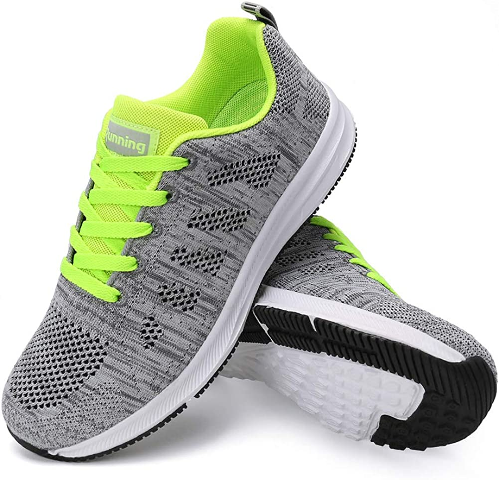 FUDYNMALC Walking Shoes Charlotte Mall for Women Lace Up safety Sli Casual Comfort Non