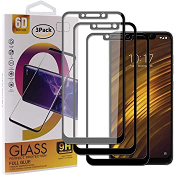 Guran [3 Paquete Protector de Pantalla para Xiaomi Pocophone F1 ...