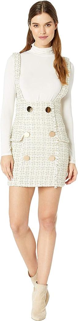Tweed Overall Dress