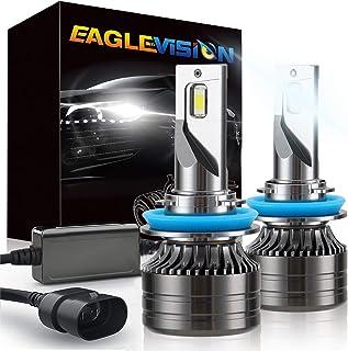 EAGLEVISION H11/H8/H9 LED Headlight Bulbs, 60W 12000 Lumens Super Bright LED Headlights Conversion Kit, 400% Brighter, 600...