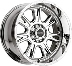 Vision Off-Road Wheel Fury Style: 399 RWD, Finish: Chrome, Wheel Size Inches: 17X8.5 PCD: 6-5.5