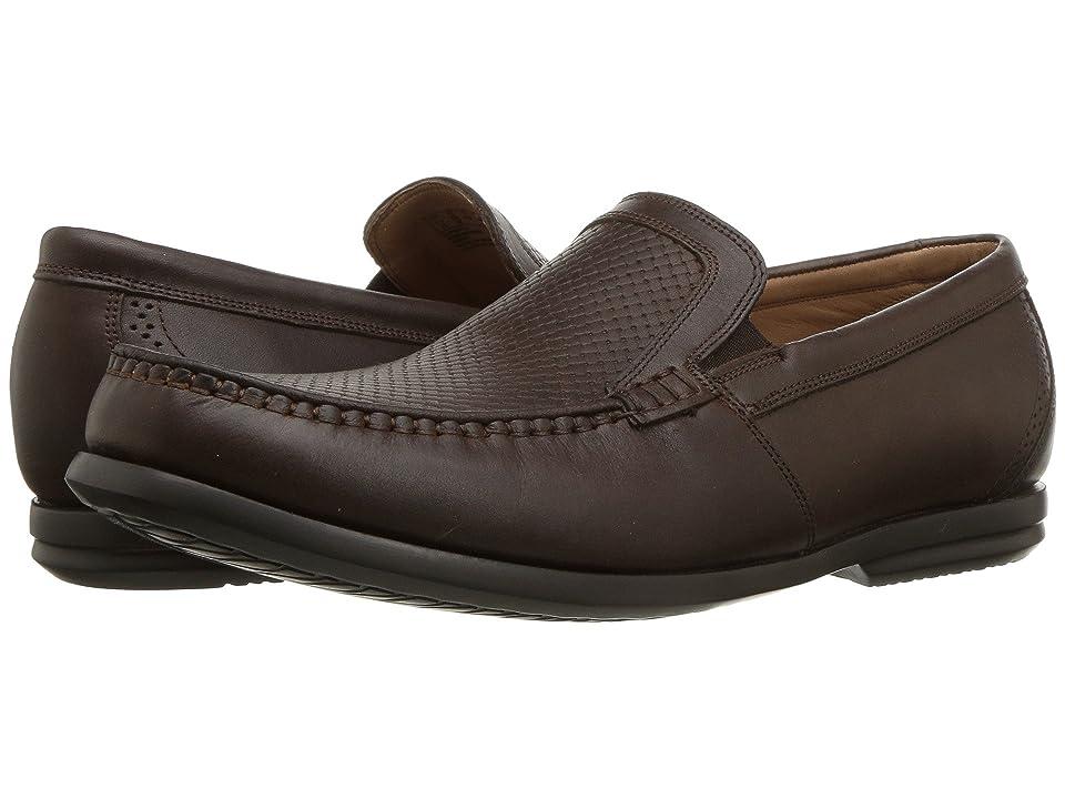 Clarks Un Gala Free (Brown Leather) Men