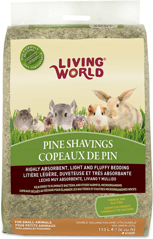 Living World Pine Shavings, 20 Cubic Feet  Amazon.ca Pet Supplies