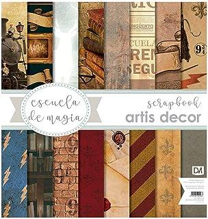 Collection papier esquisse de magie 8 feuilles