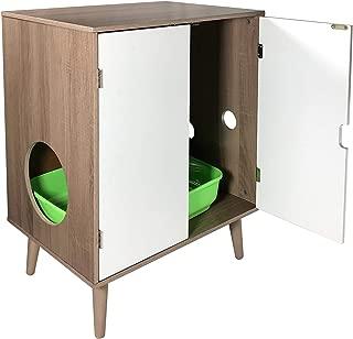 Penn Plax CatWalk Privacy Please Litter Cabinet