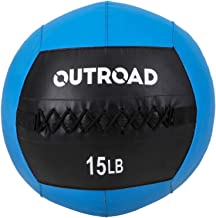 Max4out Wall Ball Medicine Balls, Dead Weight Balls for Fitness Workouts, 10,12,15 lbs
