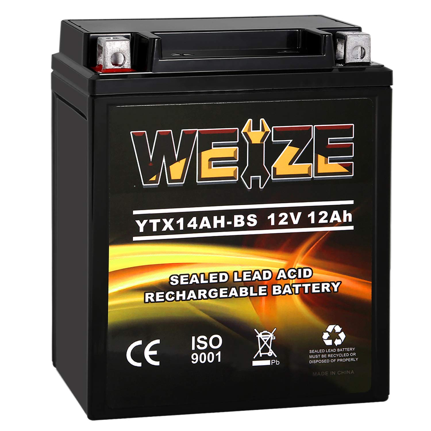 Weize YTX14AH BS High Performance Rechargeable