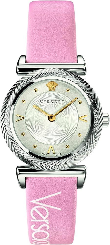 Versace orologio donna  cinturino in pelle VERE00118