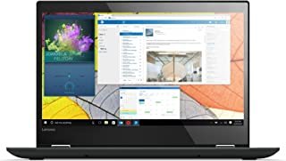 Lenovo 联想 Yoga 520 35.6 厘米 14.0 英寸 全高清 IPS 触摸 可转换 8 GB 内存 Windows 10 家庭版操作系统 笔记本电脑 黑色 256 GB SSD