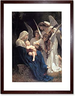 Bouguereau Song of Angels Painting Art Frame Print Picture F12X1925