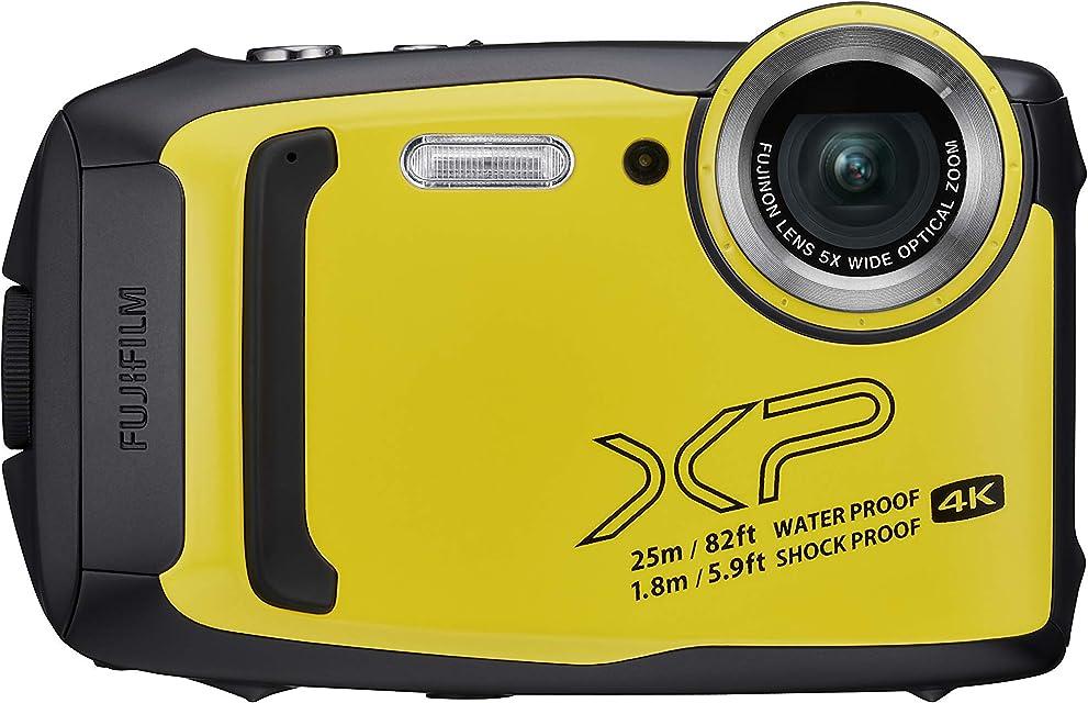 Fujifilm FinePix XP140 - Cámara Digital compacta Color Amarillo