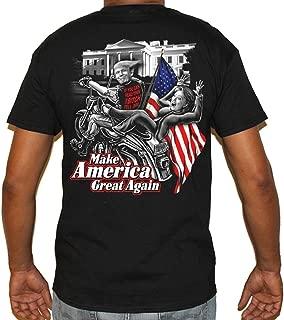 trump biker t shirt