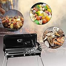 Best brinkmann 2 burner propane grill Reviews