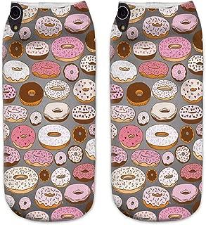 Hommes Femme Sport Loisirs Chaussettes Unisexes pour Adultes DOTBUY 3D Donut Nouveaut/é Chaussettes