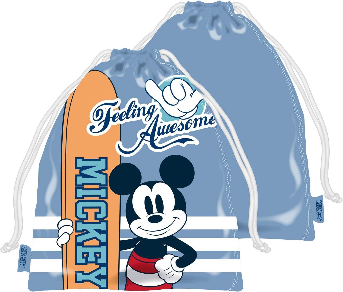 ARDITEX WD13608 Bolsa Merienda 26.5X21.5cm de Disney-Mickey