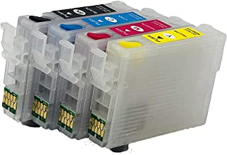 UV INFOTECH T1901 / 02/03 / 04 Empty REFILLABLE Cartridge with AUTO Reset CHIP (ARC) Compatible with ME301 Printer