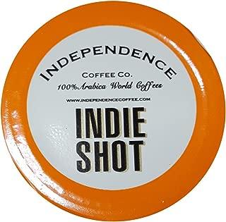 Independence Coffee Co. Jet Fuel Single-Serve Indie Shot (Multi-Origin Dark Roast) 50-pack