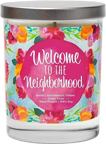 Welcome to The Neighborhood Candle