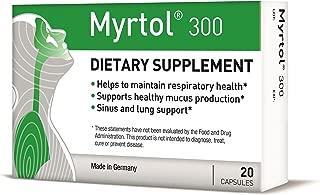 Myrtol 300, 1 Pack - Most Effective Natural Sinus Congestion Relief