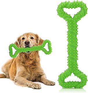 YASUOA Dog Toys Interactive Bone Toy Large Indestructible Dog Toys with Convex Design