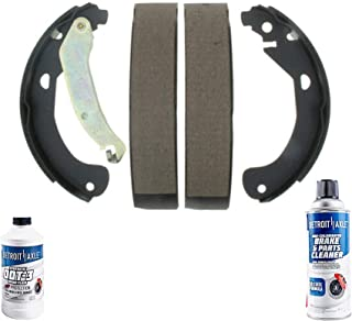 Both Left and Right with 2 Years Manufacturer Warranty 2006 For Pontiac Pursuit Rear Drum Brake Shoes Set