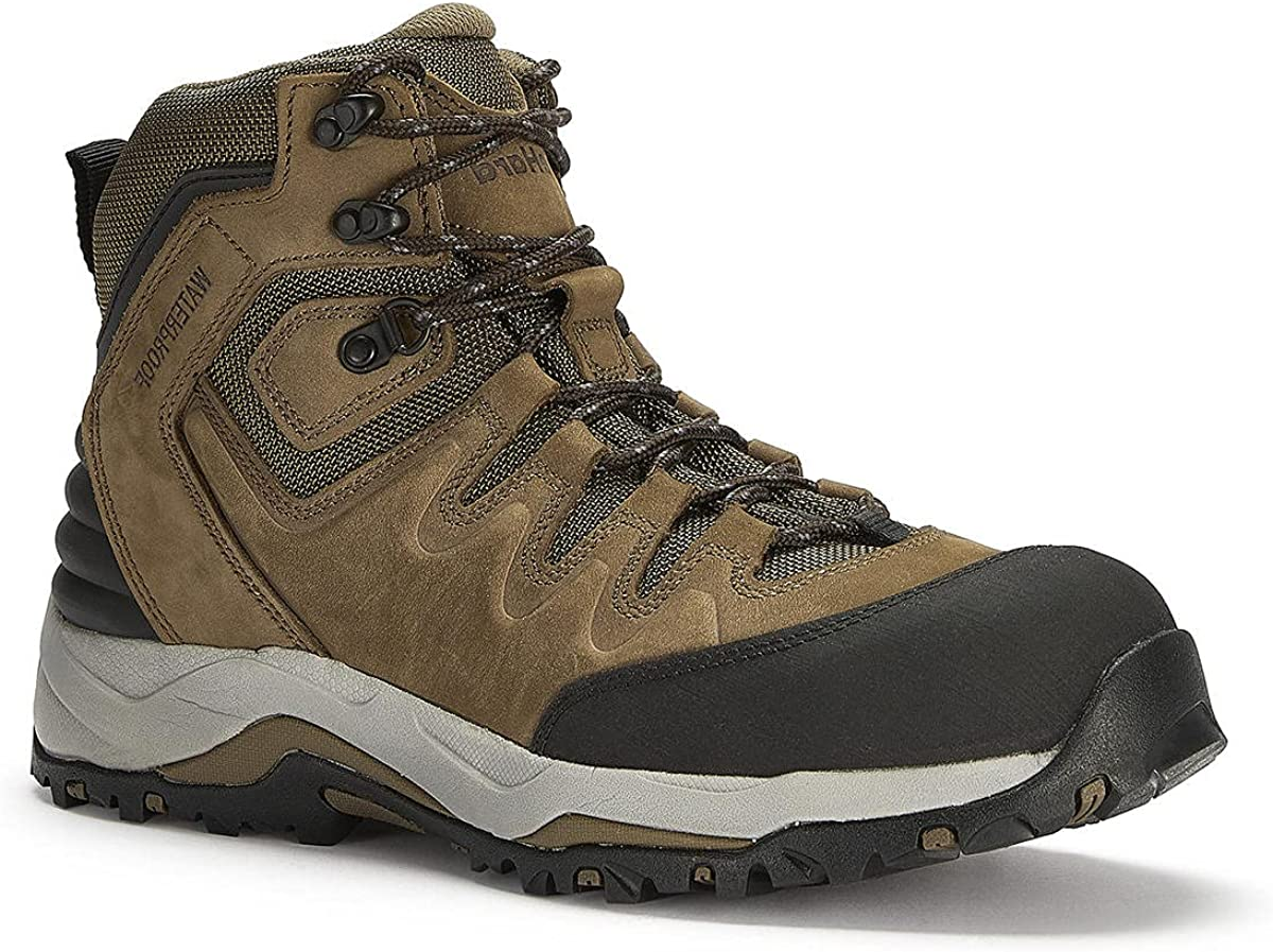 DieHard LEO Steel Toe Work Boots for Electricians Hiking Shoes, 6