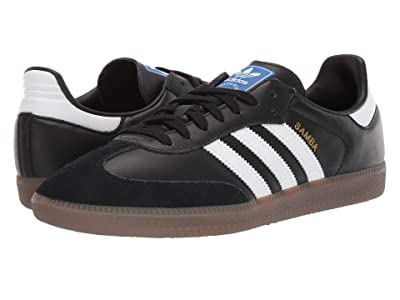 adidas Originals Samba OG (Core Black/Footwear White/Gum 5) Shoes