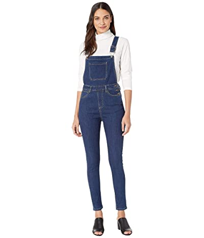 We Wore What High-Rise Skinny Overalls (Medium Wash) Women