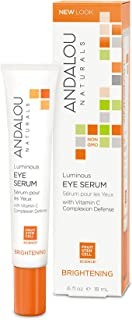 Andalou Naturals Luminous Eye Serum, 0.6 Ounce