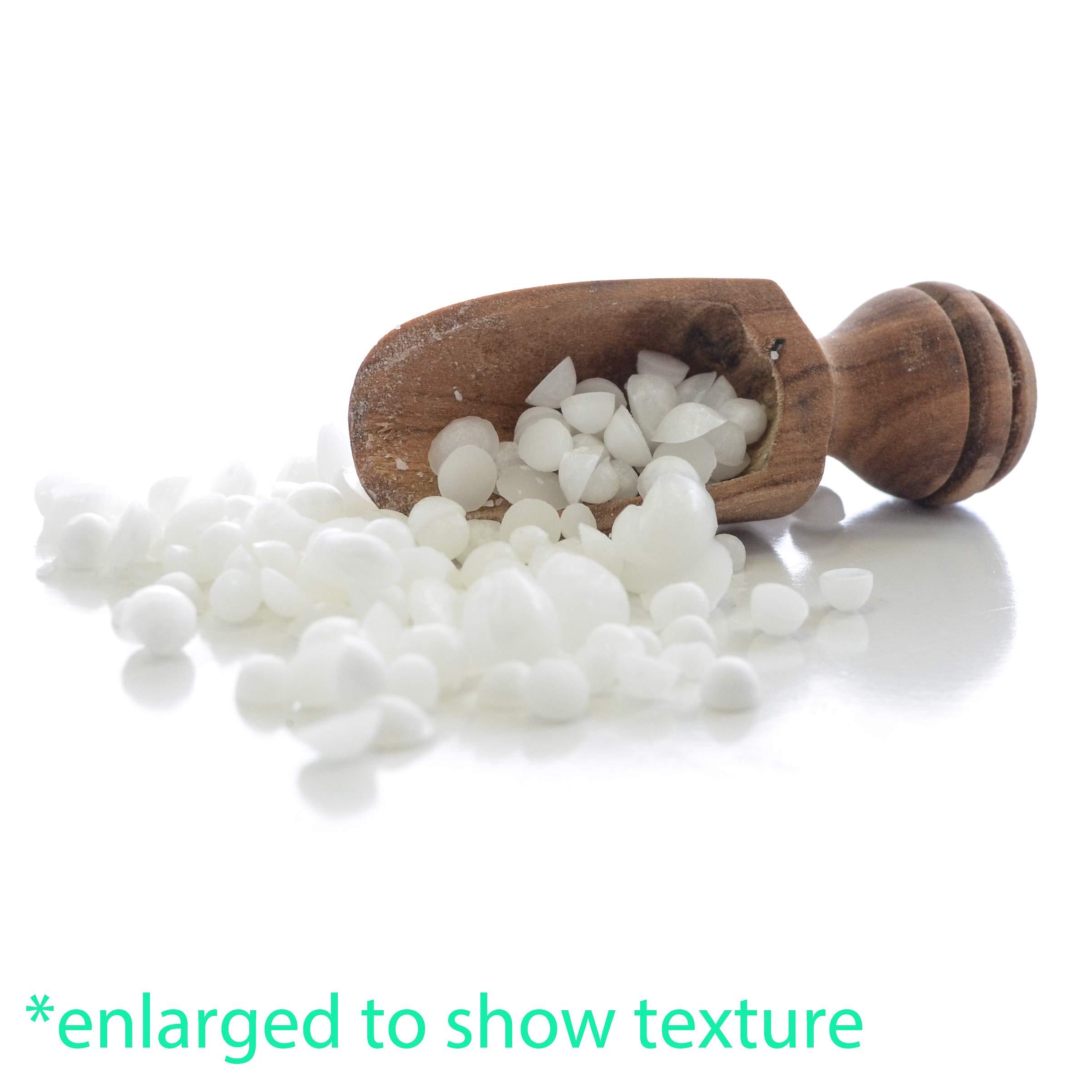 Milliard Non-GMO Emulsifying Wax Pastilles NF – 32 OZ. Resealable Freshness Storage Bag