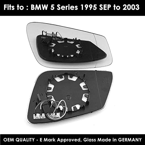 BMW Z4 2009 to 2017 Wing Mirror clip on Heated RIGHT HAND UK Driver Side
