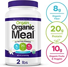healthy organic meal replacement shakes