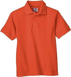 Dickies Boys' Short Sleeve Pique Polo