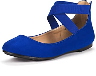 Women's Sole_Stretchy Fashion Elastic Ankle Straps Flats Shoes