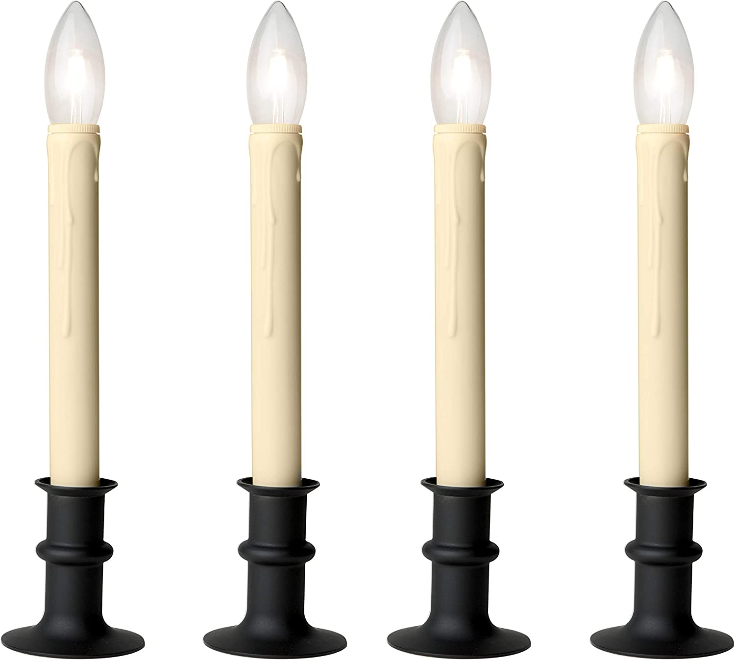 3xAA Celestial Lights Set of 2 Candle Tube Replacements for Candles