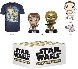 Funko Star Wars Smuggler's Bounty Subscription Box, Adventures of Kijimi, December 2019, 3XL T-Shirt, Multicolor