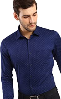 Knighthood by FBB Printed Regular Fit Shirt Blue