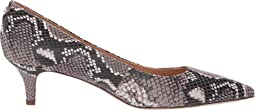Taupe Exotic Snake Print Leather