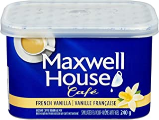 Maxwell House Café French Vanilla Instant Coffee, 240g