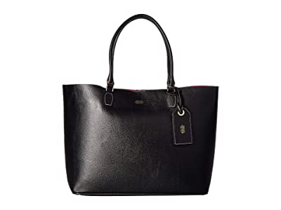 Frances Valentine Trixie Tote (Black) Handbags