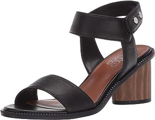 Franco Sarto Womens Bask Black Sandals 5 M