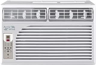 ARCTIC Wind 2016 Energy Star 6,000 BTU Window Air Conditioner, 6000, White