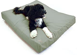 Best Waterproof DIY Replacement Dog Bed Cover; Washable Hypoallergenic, Made in USA